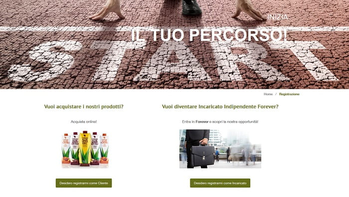 DIFFERENZE CON ALTRE AZIENDE che operano nel sistema Network Marketing